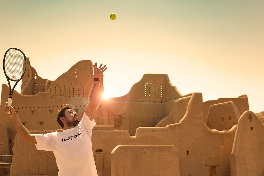 """It is great for the country, the fans and young players"" - Stan Wawrinka on why the Diriyah Tennis Cup will be special for Saudi Arabia"