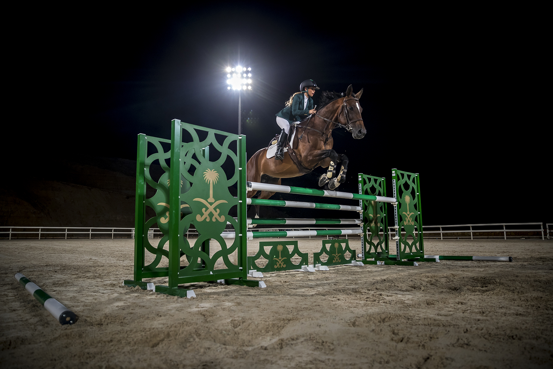 Time for Saudi women to shine in the saddle believes Saudi's first female Olympic rider Dalma Malhas