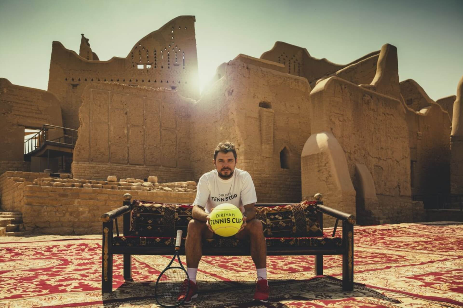 Diriyah Tennis Cup officially launches with global stars Stanislas Wawrinka and Daniil Medvedev confirmed